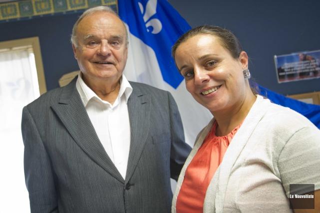 La candidate du Bloc québécois dans Saint-Maurice-Champlain, Sacki... (Photo: Andréanne Lemire Le Nouvelliste)