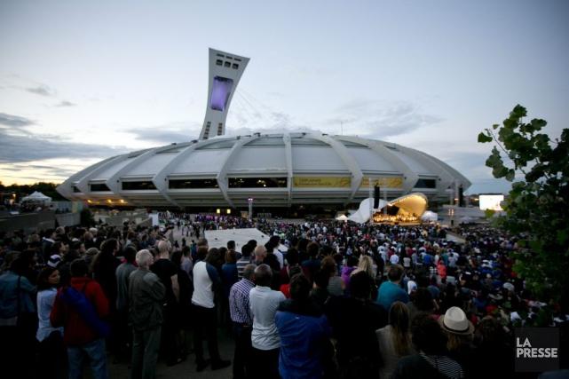 Quelque 45 000 spectateurs se sont déplacés pour... (PHOTO DAVID BOILY, LA PRESSE)