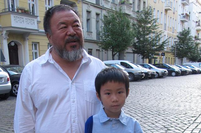 Ai Weiwei pourrait notamment enseigner à l'Université des... (PHOTO AFP)