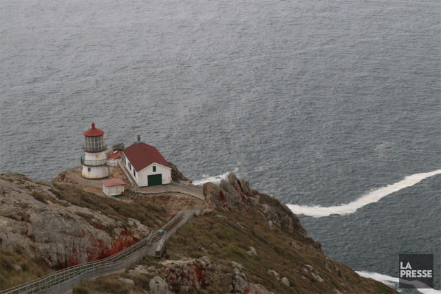 Le phare de Point Reyes.... (PHOTO SYLVAIN SARRAZIN, LA PRESSE)