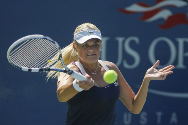 Aleksandra Wozniak.... (PHOTO KENA BETANCUR, AFP)