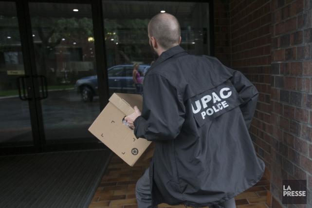 Les policiers n'ont pas voulu confirmer quelque information... (PHOTO IVANOH DEMERS, ARCHIVES LA PRESSE)