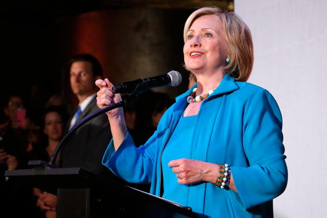 Hillary Clinton... (Photo Brennan Linsley, AP)