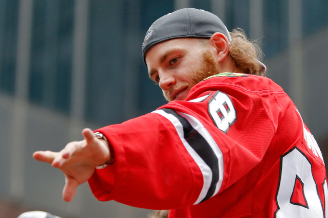 Patrick Kane... (Photo Jon Durr, USA Today)