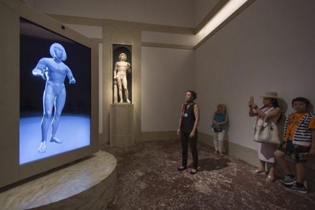 Douze ans après une chute dramatique, la statue... (PHOTO FOURNIE PAR LE METROPOLITAN MUSEUM OF ART)
