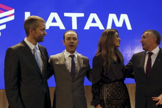 Les compagnies aériennes chilienne LAN et brésilienne TAM, déjà regroupées au... (PHOTO REUTERS)