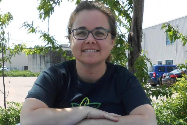 Julie Bolduc, coordonnatrice de la Patrouille Eurêko!... ((Courtoisie))