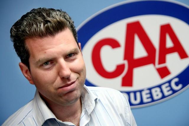 Philippe Saint-Pierre, directeur des affaires publiques au CAA-Québec.... ((Courtoisie))