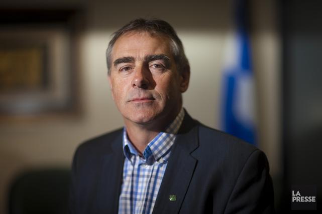 Marcel Groleau, président général, Union des producteurs agricoles.... (Photo; Andre Pichette / La Presse)