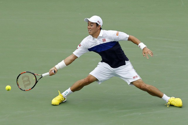 Kei Nishikori... (Photo Geoff Burke-USA TODAY Sports)