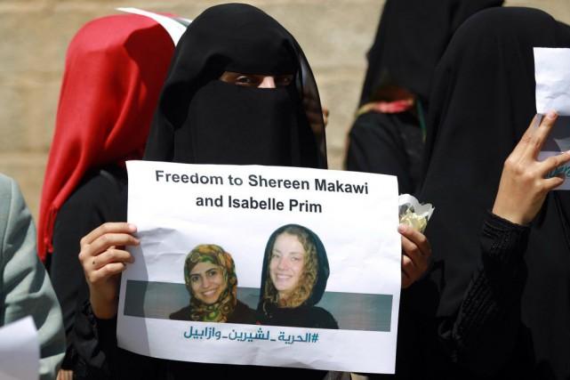 Isabelle Prime, arrivée en 2013 au Yémen, travaillait... (PHOTO MOHAMMED HUWAIS, archives AFP)