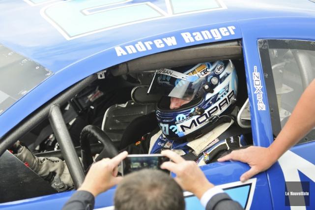 Andrew Ranger va troquer sa voiture NASCAR pour... (Photo archives Le Nouvelliste)