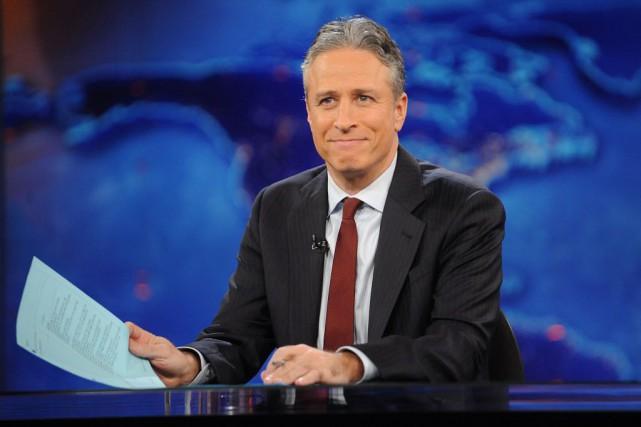 Le Daily Show, qui a valu à Jon... (Photo Brad Barket, AP)