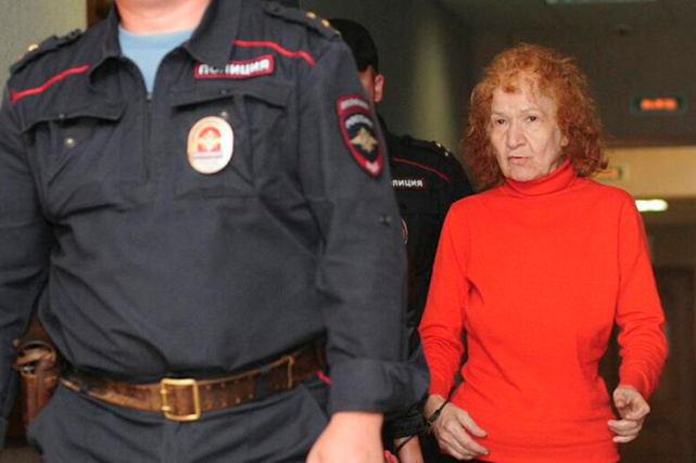 Tamara Samsonova aurait commis 11 meurtres en 20... (PHOTO TIRÉE DE TWITTER)