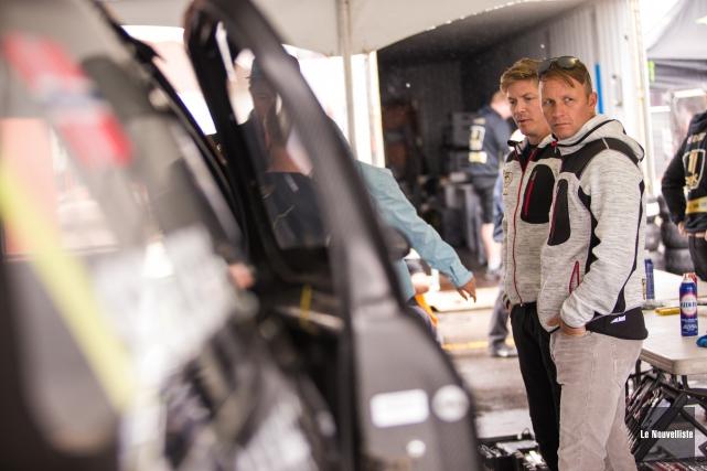 Petter Solberg devra de nouveau se méfier de... (Photo: Olivier Croteau Le Nouvelliste)