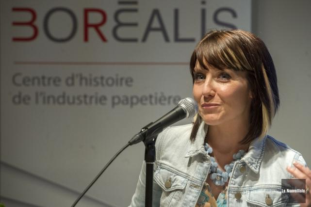 Valérie Bourgeois... (Photo: Stéphane Lessard Le Nouvelliste)