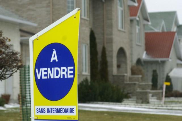 «En juillet, 309 propriétés unifamiliales ont été vendues,... (Photothèque Le Soleil)