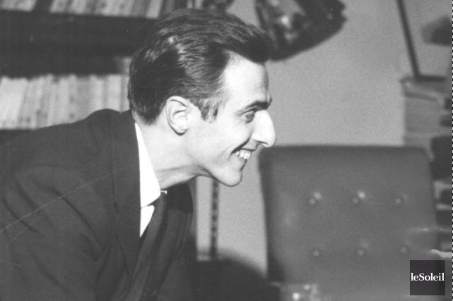 À la fin des années 50, Gilles Vigneault... (Archives Le Soleil)