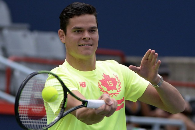 Milos Raonic... (Photo Eric Bolte-USA TODAY Sports)