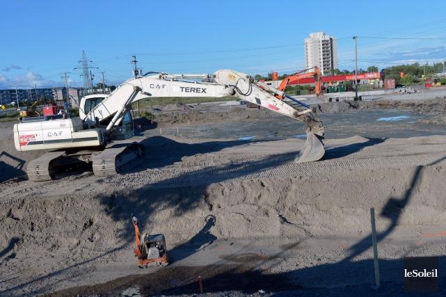Les objets ont été retrouvés par des travailleurs... (Le Soleil, Jean-Marie Villeneuve)