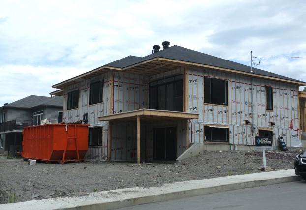 L'industrie de la construction a fléchi à Granby,... (photo Catherine Trudeau)