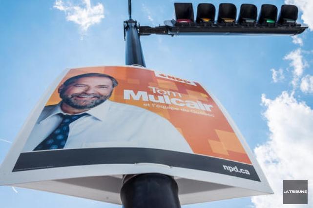 Le Nouveau Parti Démocratique (NPD) n'avait pas encore de candidat dans la... (Imacom, Frédéric Côté)