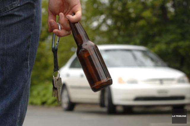 «Il est clair qu'un cas d'alcool au volant causant la mort vaut une peine de... (Archives, La Tribune)