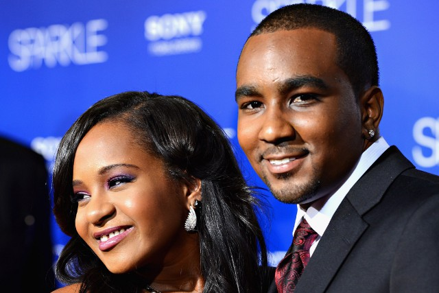 Bobbi Kristina Brown aux côtés de Nick Gordon... (PHOTO ARCHIVES GETTY IMAGES)