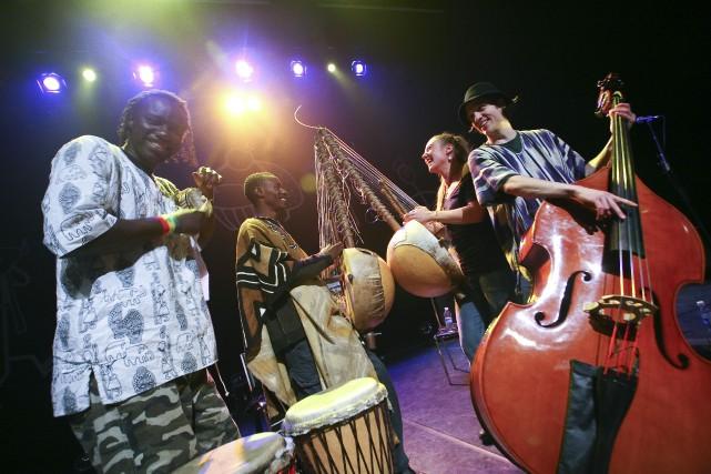 Le groupe Kabakuwo, primé au festival Nuits d'Afrique... (PHOTO FOURNIE PAR LA MAISON DES ARTS DE LAVAL)