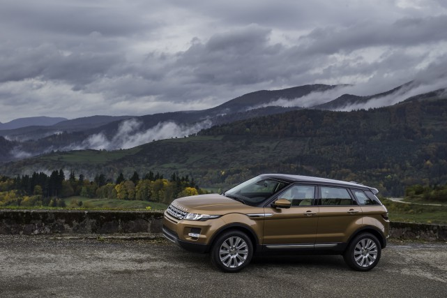 Le Range Rover Evoque 2015... (PHOTO FOURNIE PAR LAND ROVER)