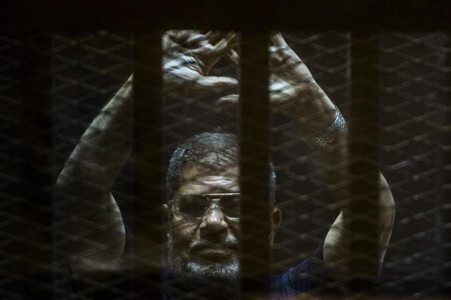 Mohamed Morsi, le premier président d'Égypte élu démocratiquement,... (PHOTO ARCHIVES AFP)