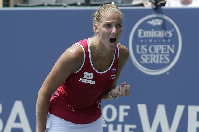 Karolina Pliskova... (Photo Jeff Chiu, AP)