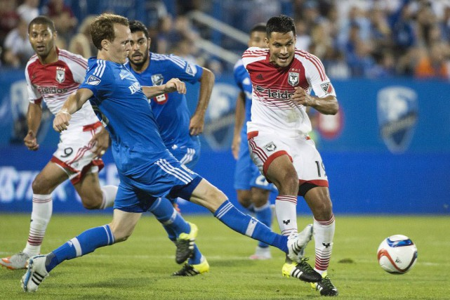 L'Impact disputera un match de championnat canadien, mercredi,... (Photo Graham Hughes, La Presse canadienne)