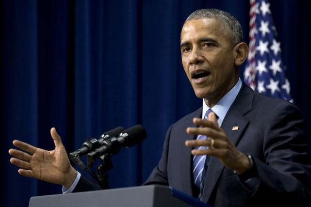 La Maison-Blanche fait un lobbying intensif pour convaincre... (Photo Carolyn Kaster, AP)