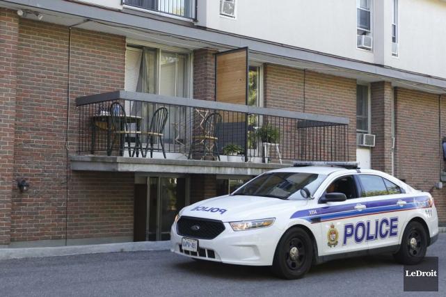 L'attaque serait survenue dans un appartement au premier... (Simon Séguin-Bertrand, LeDroit)