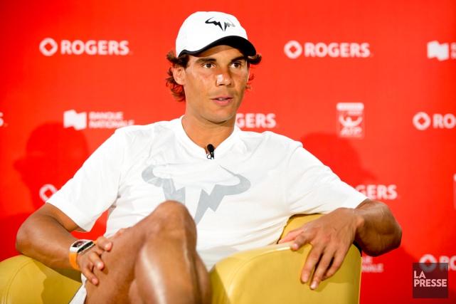 Rafael Nadal a un style de jeu qui... (Photo Sarah Mongeau-Birkett, La Presse)