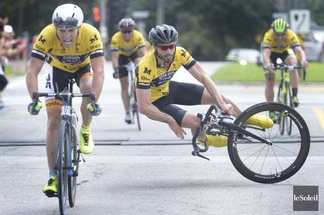 La 7e édition du défi Granfondo Garneau-Québecor aura vu quelque 3000 cyclistes... (Photo: Le Soleil)