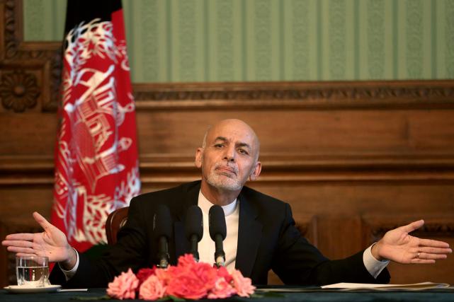 Le président de l'Afghanistan, Ashraf Ghani.... (Photo Massoud Hossaini, AP)