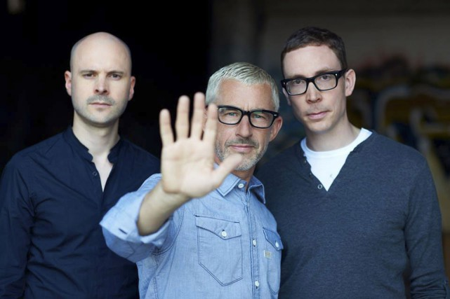 Jono Grant, Tony McGuinness et Paavo Siljamäki d'Above... (PHOTO FOURNIE PAR ULTRA MUSIC CANADA)