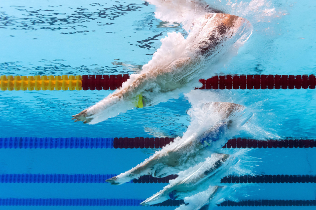 Les finales de natation commenceront à 22h heure... (Photo François Xavier Marit, archives AFP)