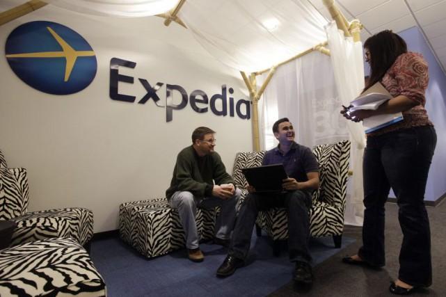 Le projet de mariage entre les voyagistes en ligne Expedia et Orbitz Worldwide... (PHOTO ARCHIVES AP)