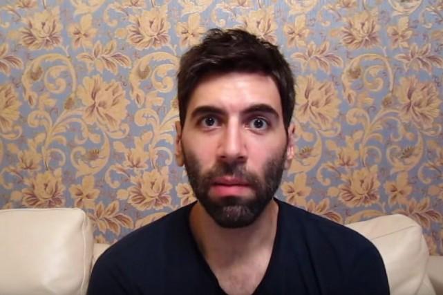Le blogueur, auteur et conférencier Roosh V... (Photo tirée de YouTube)