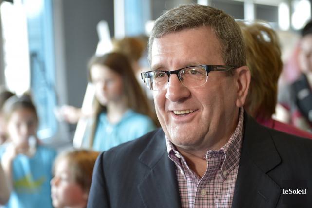 Le maire de Québec a aussi réitéré qu'il... (Photothèque Le Soleil, Yan Doublet)