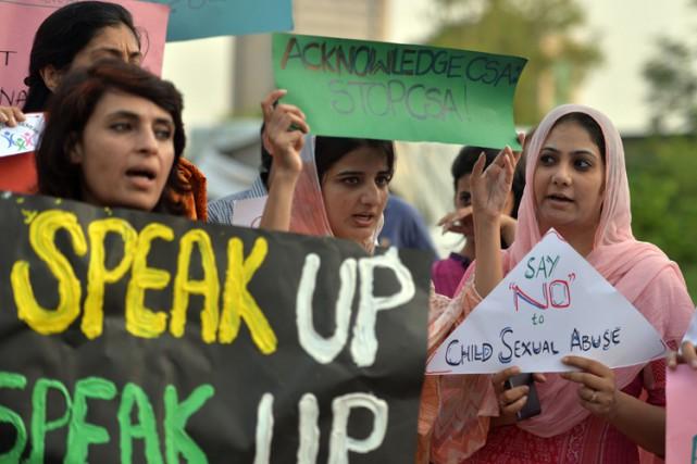 Dans la société pakistanaise, la sexualité est un... (PHOTO AFP)