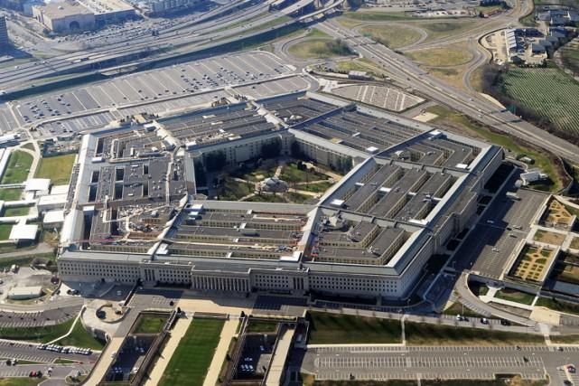 Le porte-parole du Pentagone, Peter Cook, a accusé... (Photo Archives AFP)