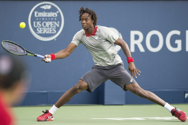 Gaël Monfils... (PHOTO PC)