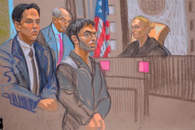 Nader Saadeh est apparu en cour lundi.... (PHOTO AP)