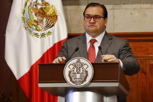 Le gouverneur de Veracruz, Javier Duarte.... (PHOTO AP)