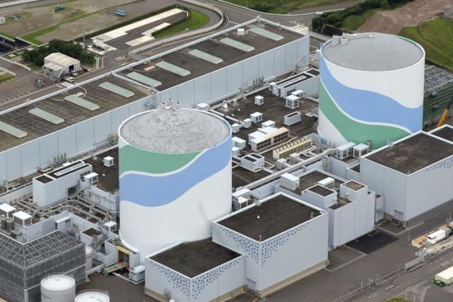 Le réacteur numéro 1 de la centrale de... (PHOTO AP)