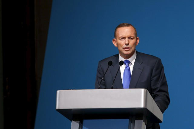 Le premier ministre australien Tony Abbott... (Photo Edgar Su, Reuters)